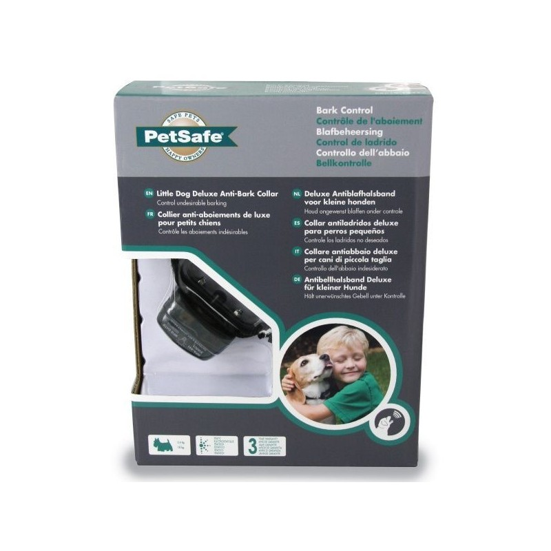PŘELOŽIT: Vibrační protištěkací obojek PetSafe