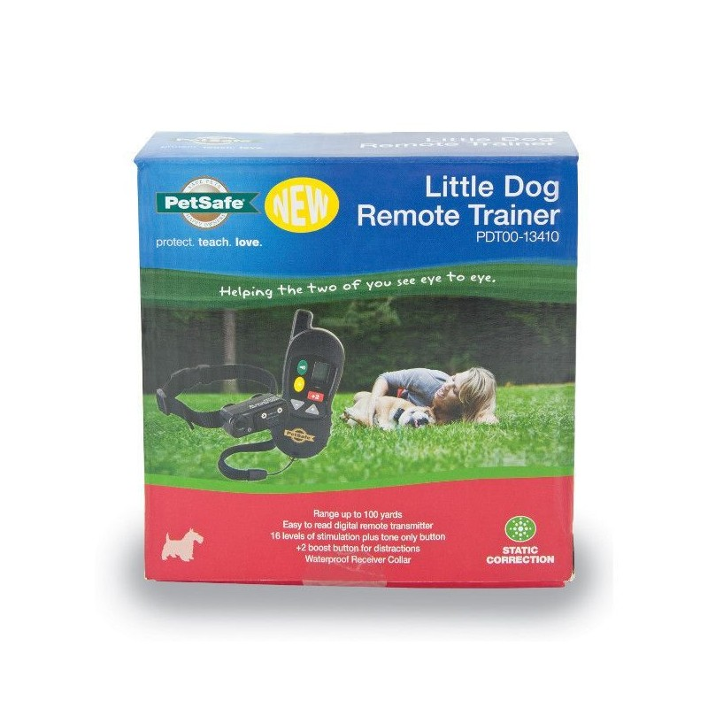 PŘELOŽIT: Elektronický obojek PetSafe Little Dog 100m