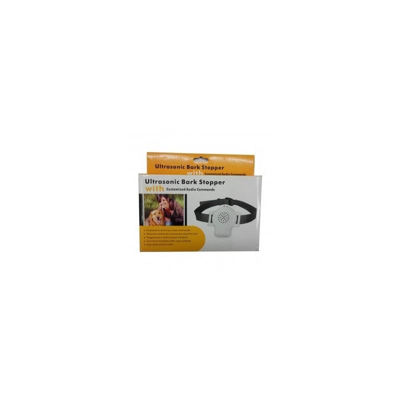 Protištěkací ultrazvukový obojek DOG-B02