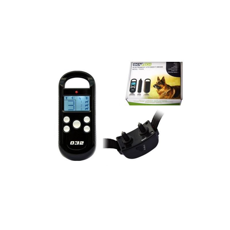 Elektronický výcvikový obojek s displejemT032