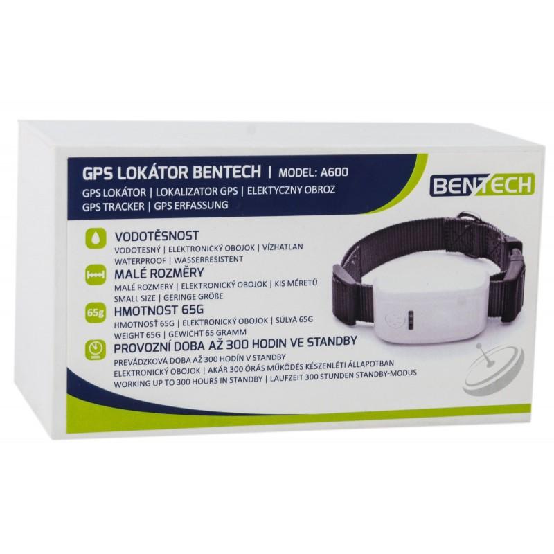 BENTECH A600 GPS lokátor pre psov