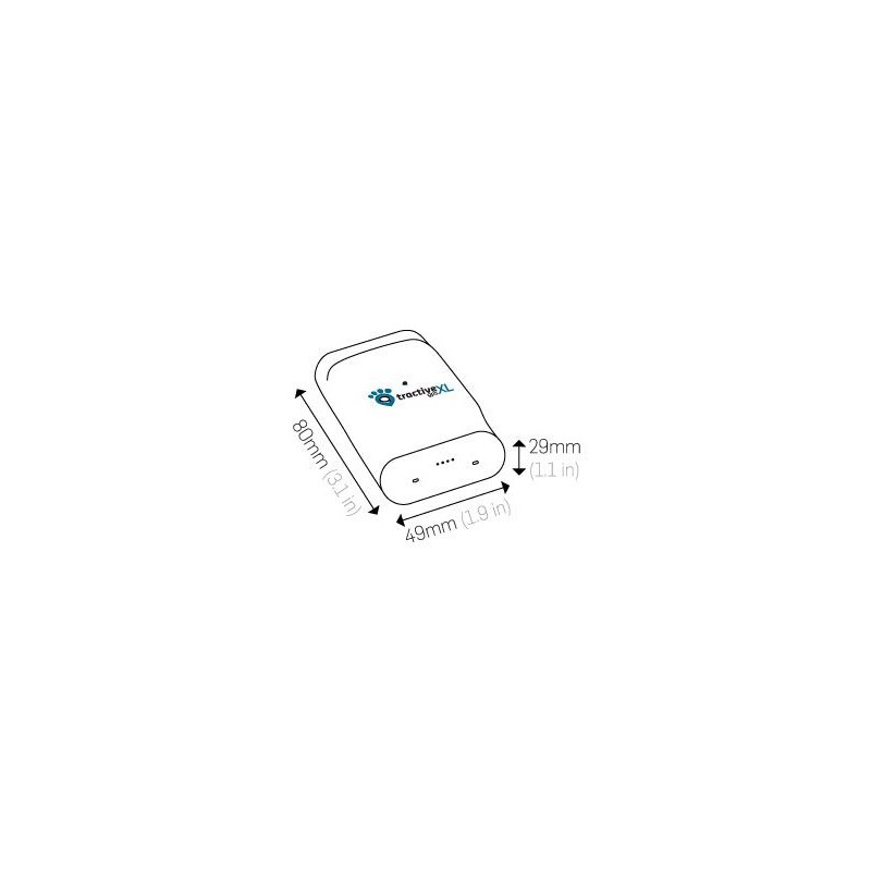 Tractive XL GPS lokátor pre psov a ďalšie
